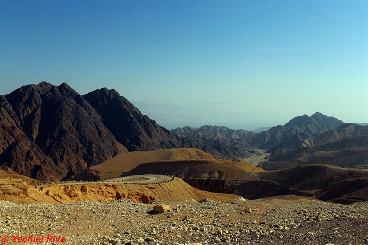 Support Israel and get this picture: Eilat Mountains