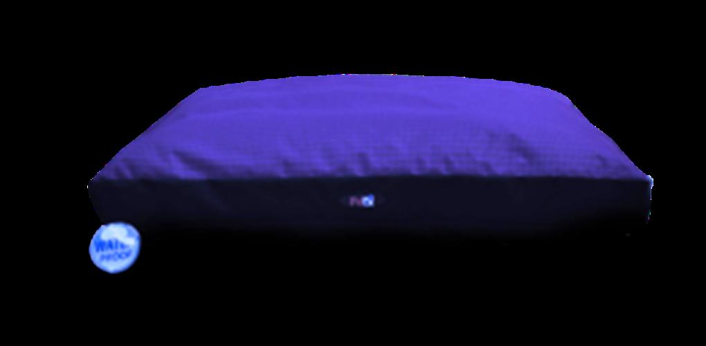"""מרבץ שינה לכלב בצבע כחול בגודל של 90X65X8 ס""""מ פטקס"""