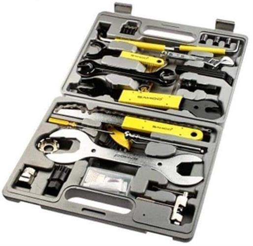 סט ארגז כלים 44 חלקים לתיקון ותחזוקת האופניים