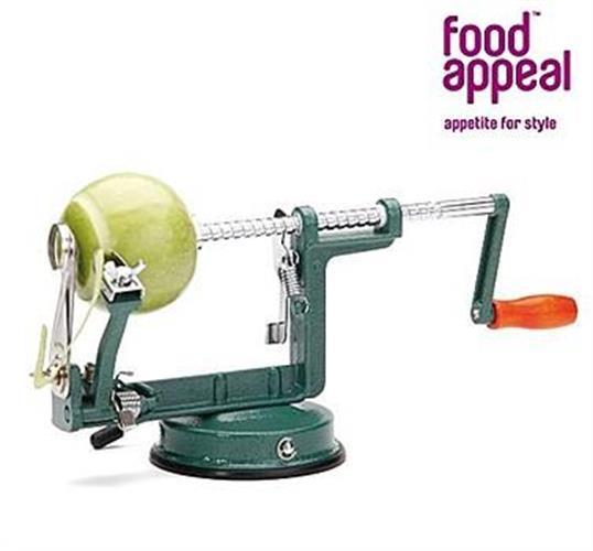 הקולפן החכם - פורס, מקלף ומוציא ליבה לתפוחי עץ ותפוחי אדמה
