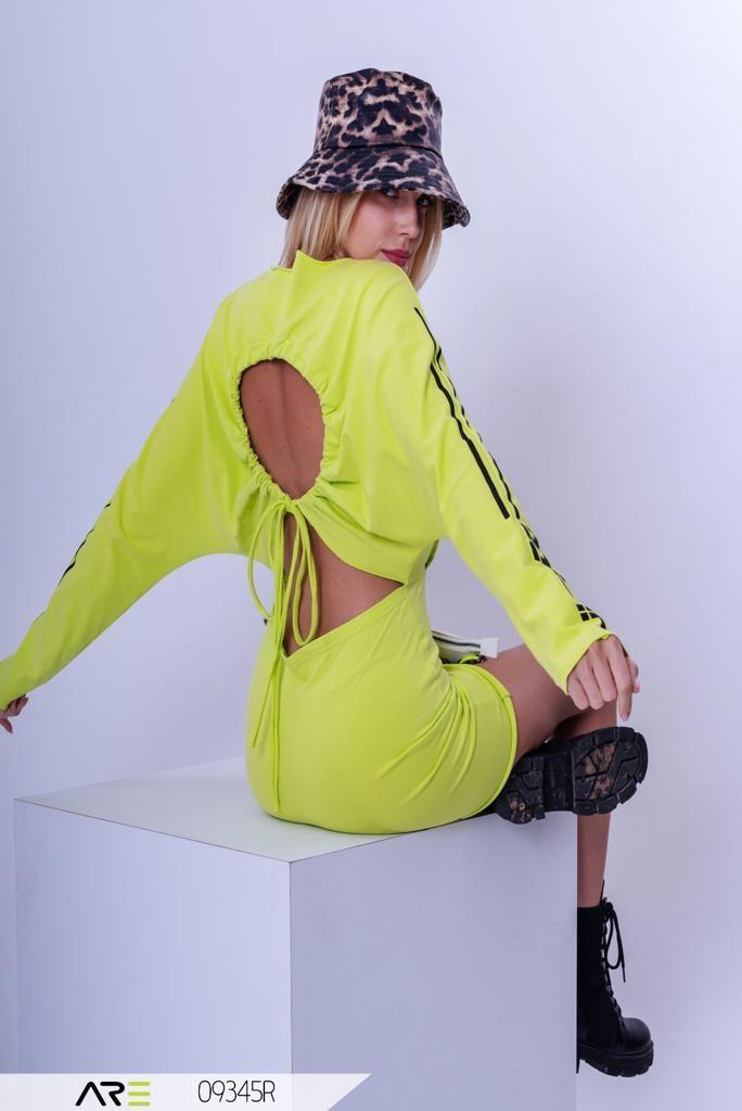 שמלה Do it צהובה