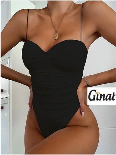 בגד-ים שלם סקסי שחור