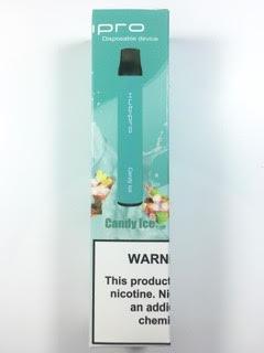 סיגריה אלקטרונית חד פעמית כ 2000 שאיפות Kubipro Disposable 20mg בטעם סוכריות אייס Candy Ice