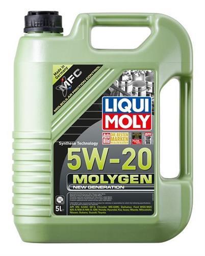 שמן מנוע 5 ליטר MOLYGEN LM  5W20