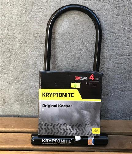 קריפטונייט מנעול לאופניים Kryptonite - Original Keeper STD 4/10