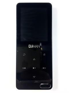 נגן MP3 DJMAN מתכתי 8 ג'יגה זיכרון פנימי