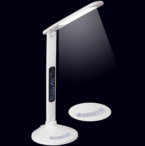 מנורה שולחנית לד עם שקע לטעינת הנייד