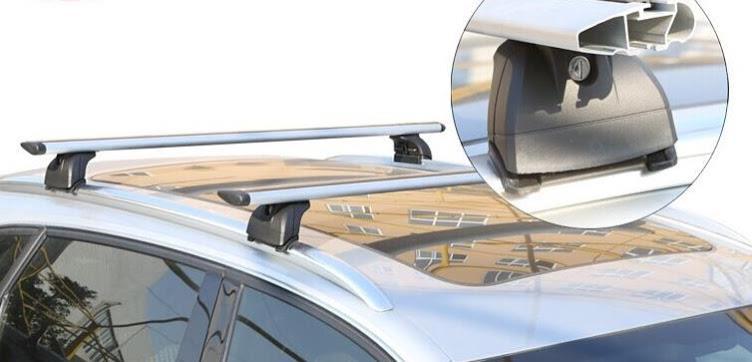גגון לרכב עם פסי אורך צמוד גג קמפינג לייף