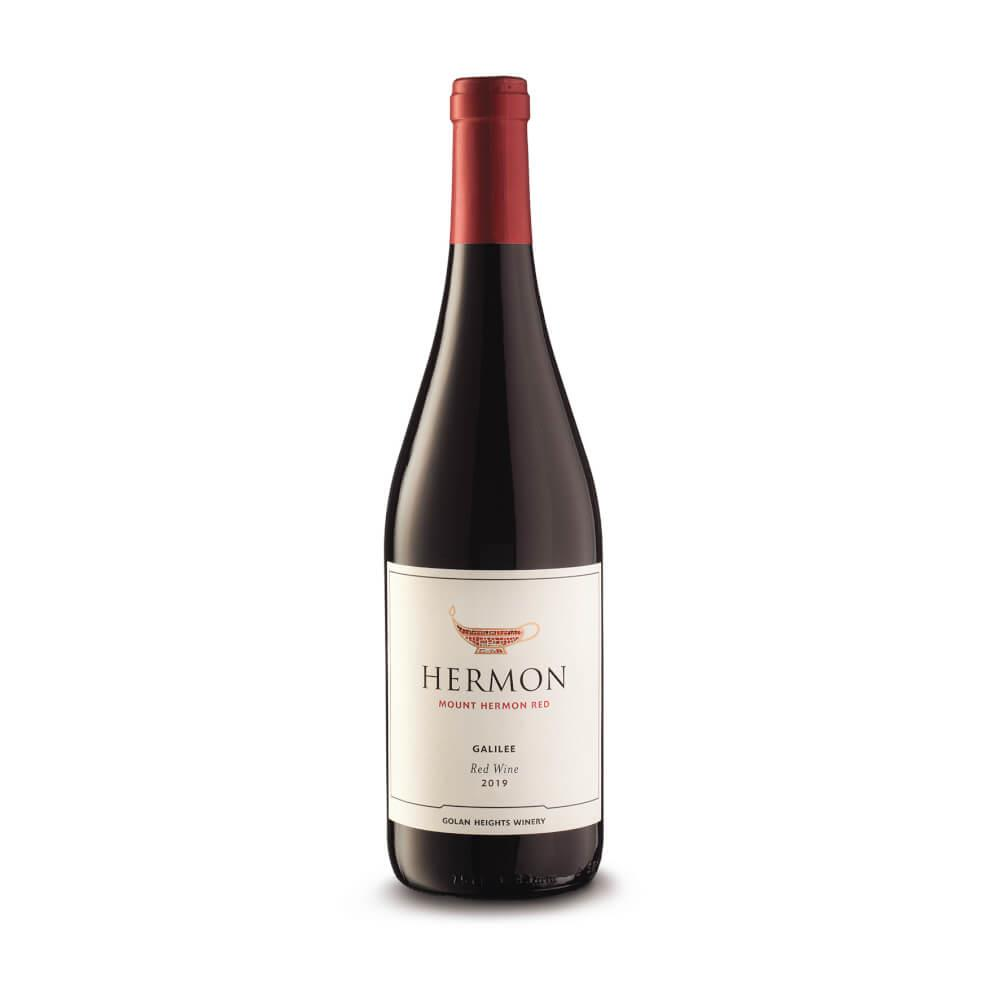 יין רמת הגולן חרמון אדום
