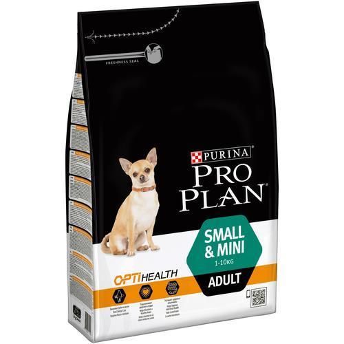 """פרו-פלאן כלב בוגר גזע קטן עוף ואורז 3 ק""""ג Pro-plan מזון לכלב פרופלאן"""