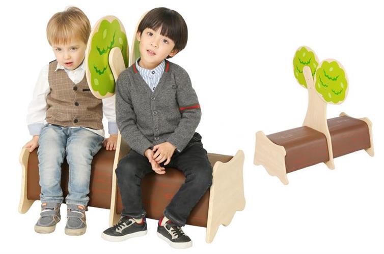 ספת ישיבה כפולה דגם עץ