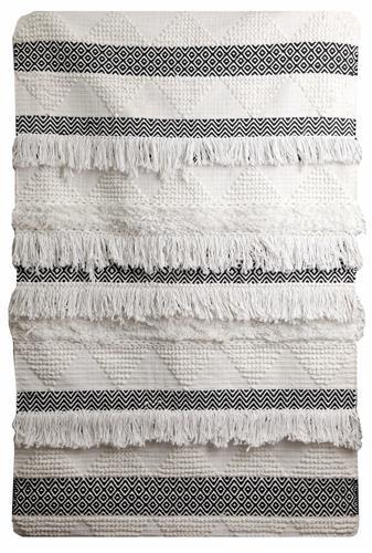 """שטיח דגם - """"בוהו 05"""" - 100% כותנה בעבודת יד!"""