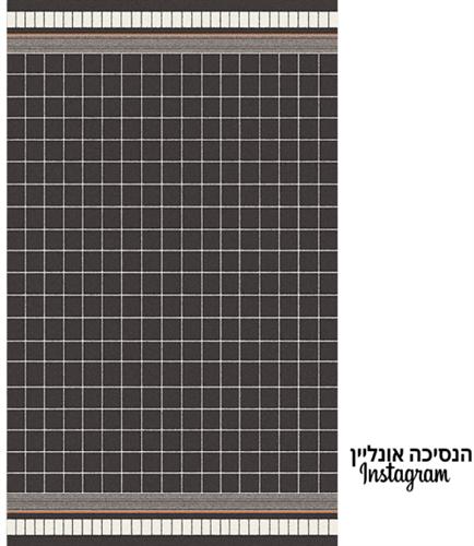 שטיח דגם- YORK  שחור