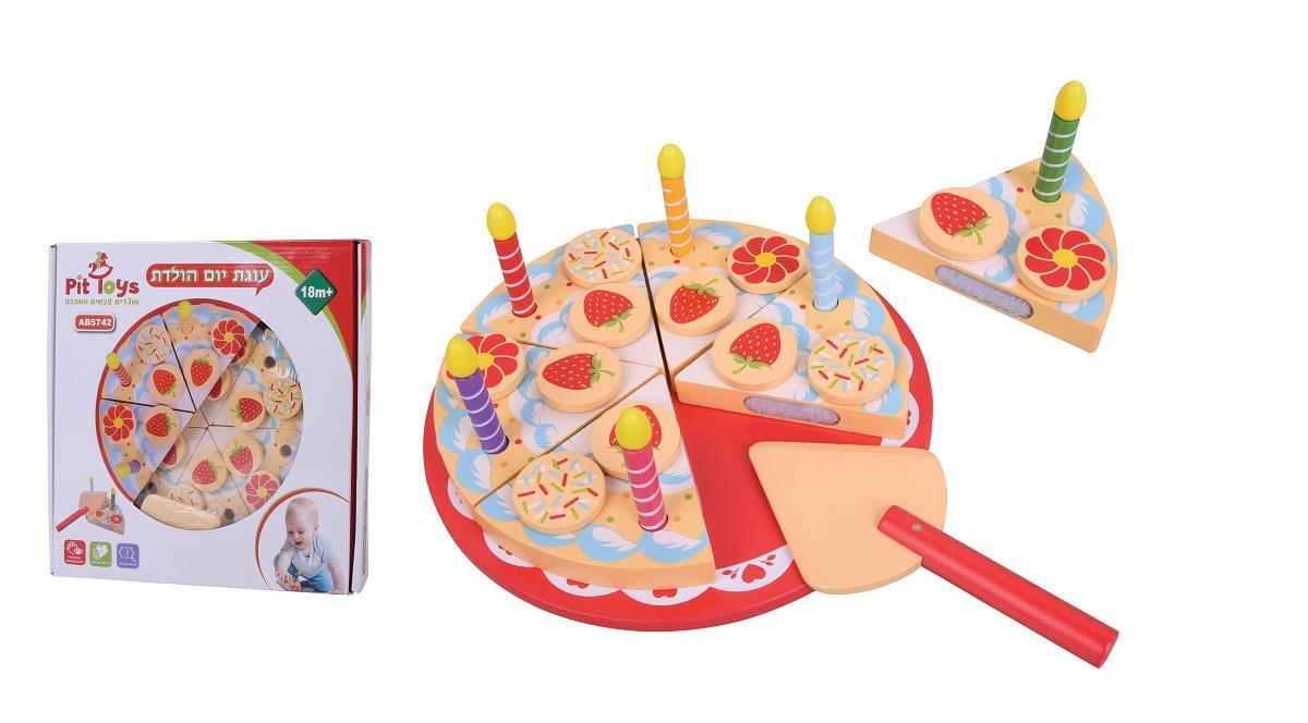 עוגת יום הולדת עץ איכותי