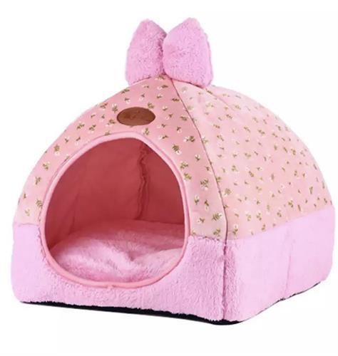 מיטה לכלב קטן ננסי או לחתול צבע ורוד