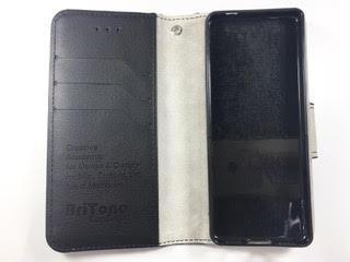 מגן ספר BriTone לשיאומי +XIAOMI QIN 1S בצבע שחור