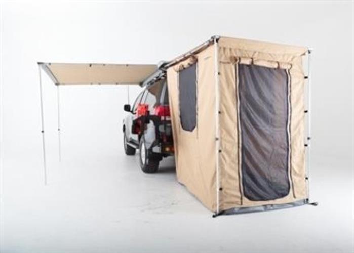 אוהל  סגירה לסככת צל מידה 1.4 מטר על הרכב נפתח החוצה 2 מטר לא כולל סככת צל