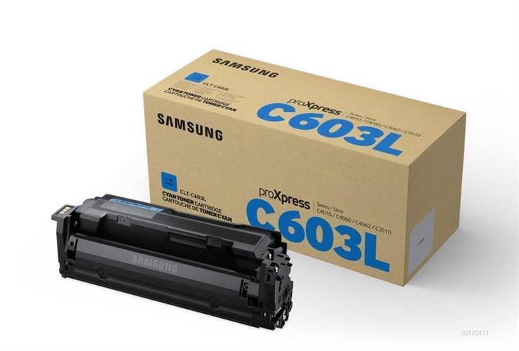 טונר מקורי כחול סמסונג CLT-C603L למדפסות SL-C4010ND SL-C4060FX