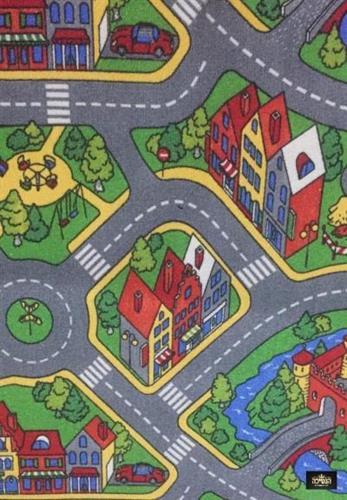 שטיח כבישים לחדרי ילדים