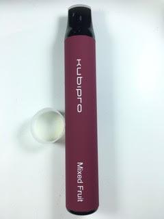 סיגריה אלקטרונית חד פעמית כ 2000 שאיפות Kubipro Disposable 20mg בטעם מיקס פירות Mixed Fruit