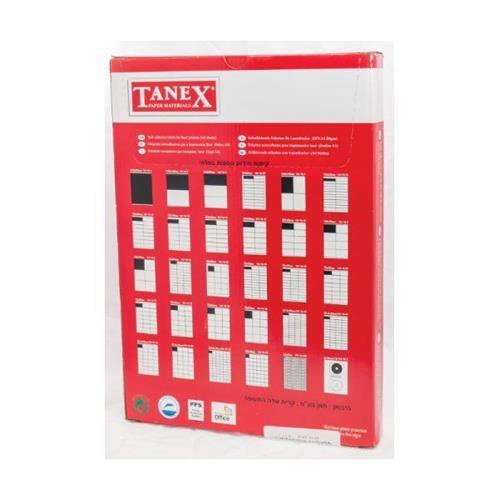 מדבקות למדפסת-TANEX מארז של 200 דפים