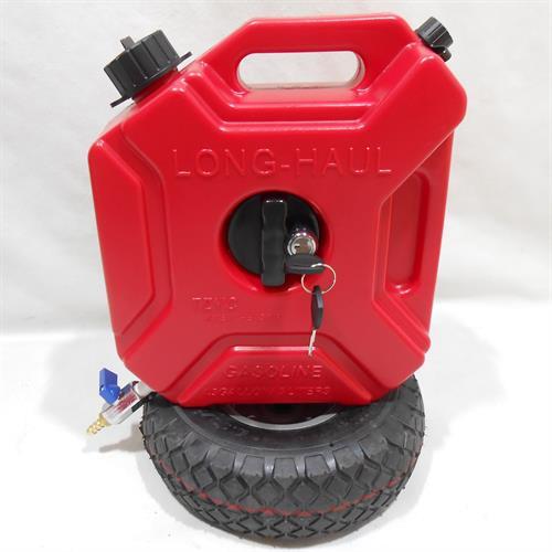 מיכל 5 ליטר שטוח עם ברז ומתקן תלייה כולל מנעול קמפינג לייף
