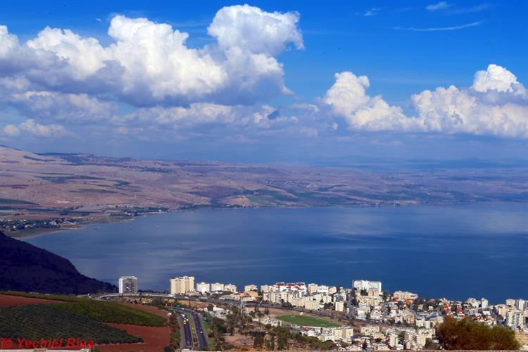 Support Israel and get this picture: Tiberias, Sea of Galilee