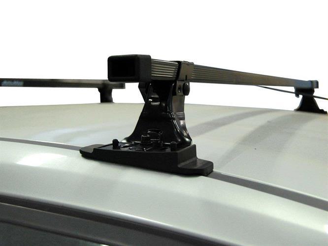 גגון רוחב MONT BLANC צרפתי מתכת   AMX127 SUPRA M.BLANC רכב עם הברגות על הגג לפי רשימה במודעה