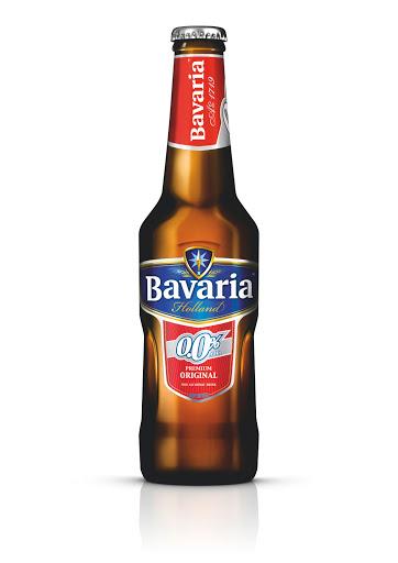 """בואריה Bavaria  בירה טעם תפוחים  ללא אלכוהול 330 מ""""ל 1/24"""