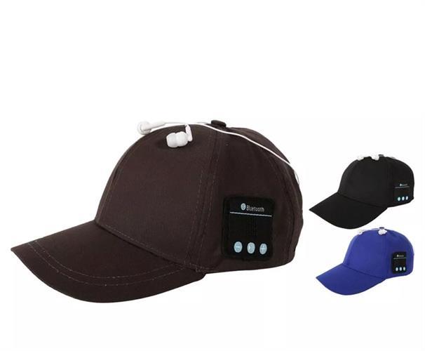 כובע משולב אוזניות בלוטוס