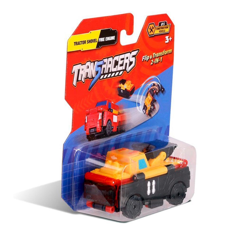 טרנסרייסר- 2 ב-1 טרקטור מעמיס וכבאית