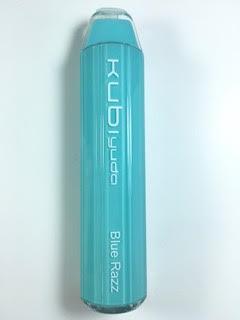 סיגריה אלקטרונית חד פעמית כ 2800 שאיפות Kubi yuda Disposable 20mg בטעם פטל Blue Razz