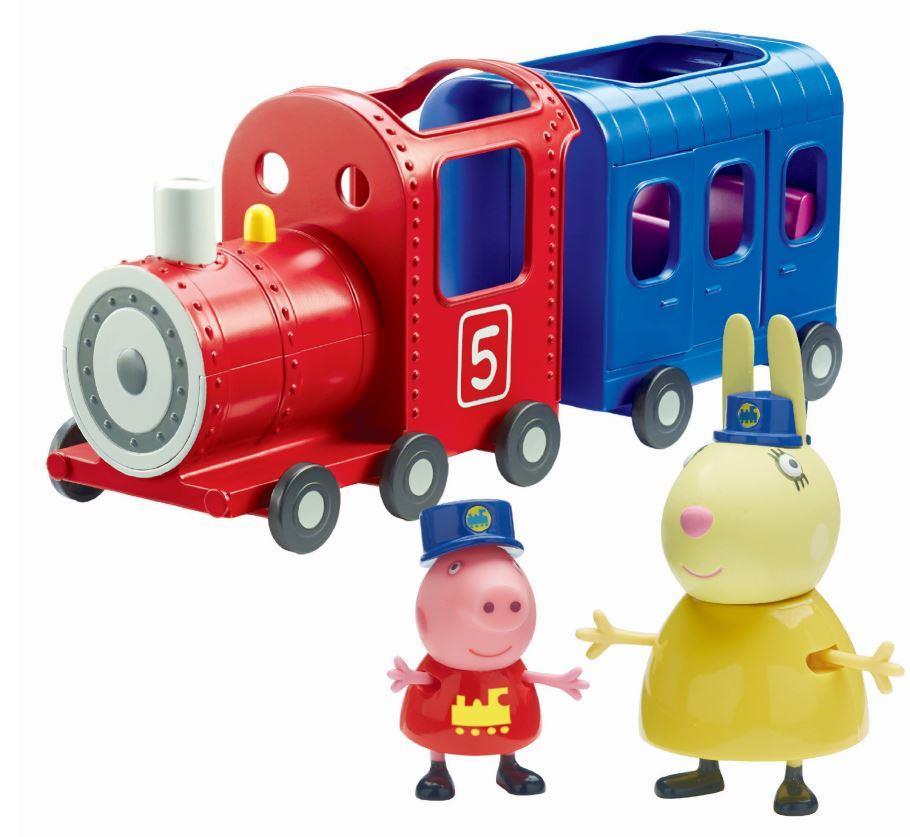 פפה פיג- הרכבת של גברת ארנבת