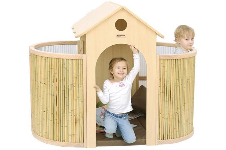 בית קוקו דגם ביתי עץ + מזרונים