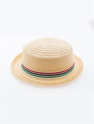 כובע קש אופנתי