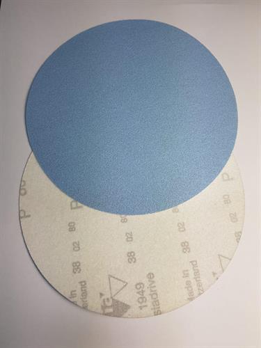 נייר שיוף נצמד קוטר 150 ממ גרעין 80
