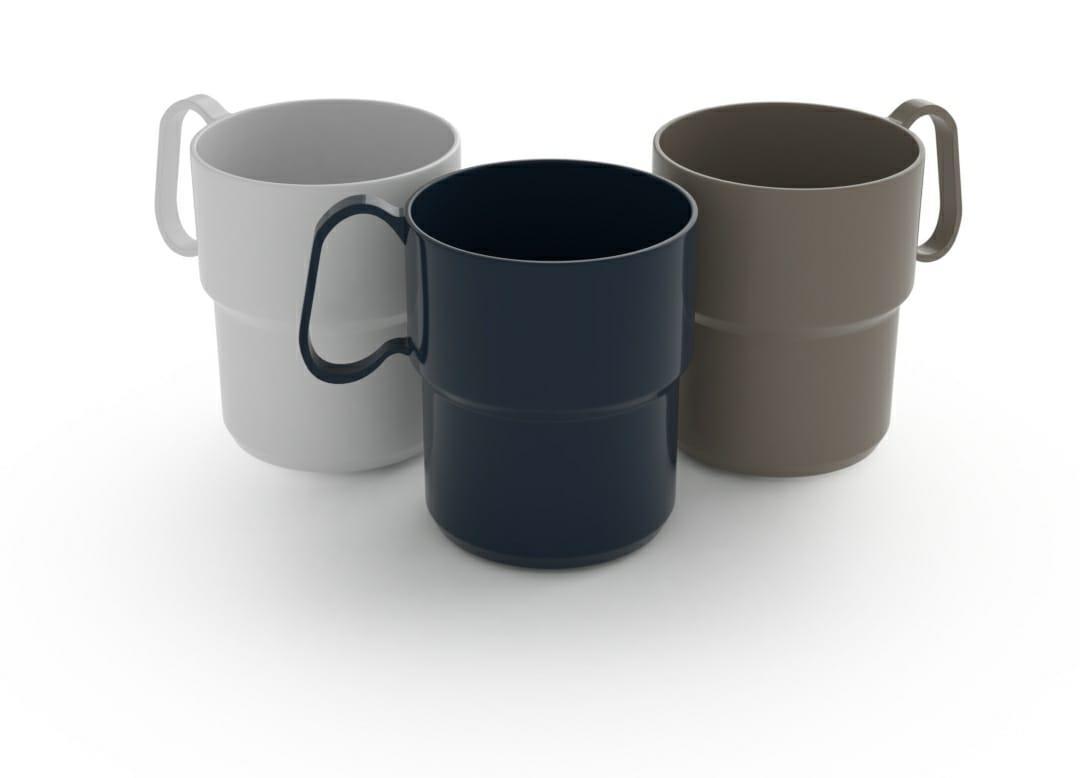 כוס ספל פלסטיק אודם