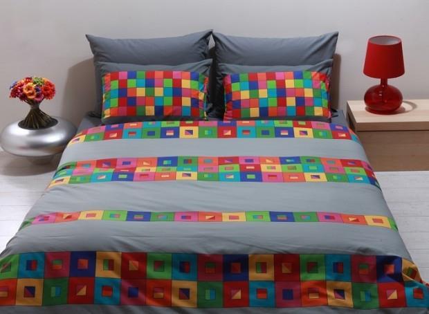 מצעים למיטת יחיד 100% כותנה - פריד דגם קולורדו