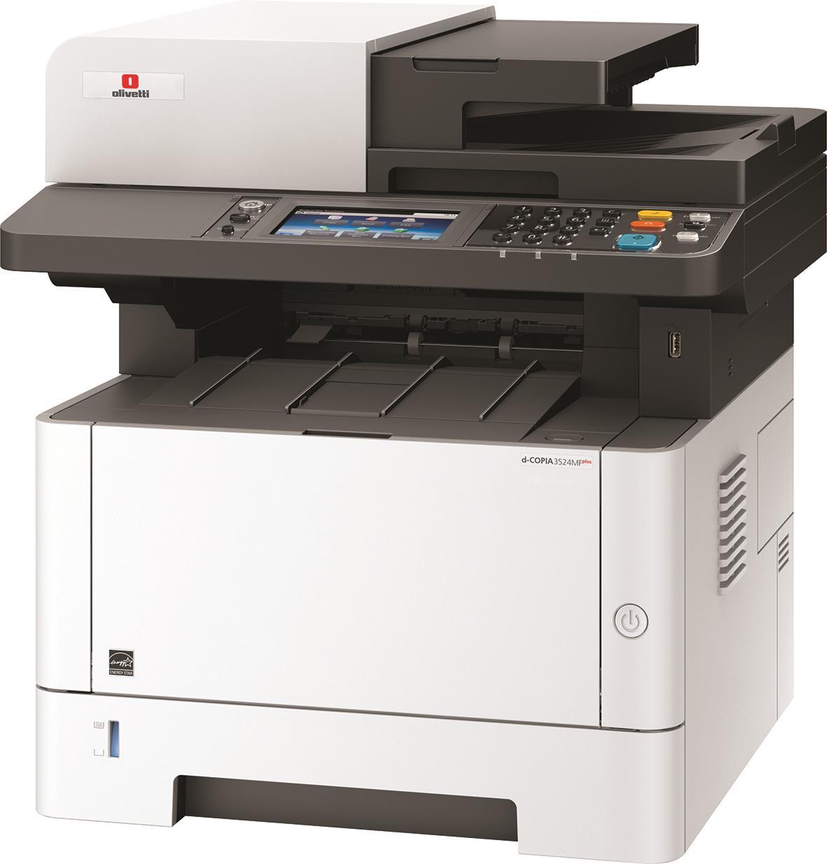 מדפסת משולבת אלחוטית לייזר Olivetti d-Copia 3524MF plus