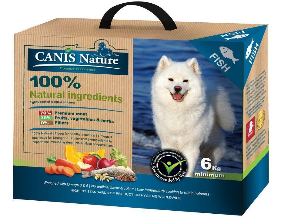 """Canis Nature fish קאניס נייצ'ר דגים – 6 ק""""ג"""