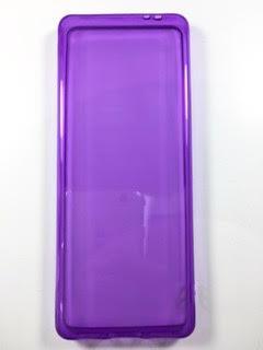 מגן סיליקון לשיאומי +XIAOMI QIN 1S בצבע סגול