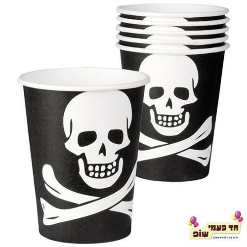 כוס פיראטים גולגולת