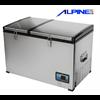 מקרר קומפרסור לרכב 80 ליטר כולל 2 תאים נפרדים ALPINE דגם ALP80