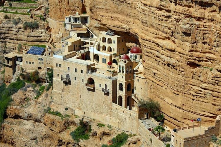 Support Israel and get this picture: St. George's Monastery