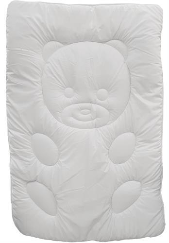 שמיכת פוך מפנקת ומכרבלת לתינוק בצורת דובי