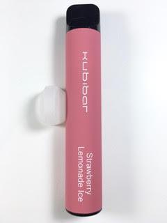 סיגריה אלקטרונית חד פעמית כ 1500 שאיפות Kubibar Disposable 20mg בטעם תות לימונדה Strawberry Lemonade