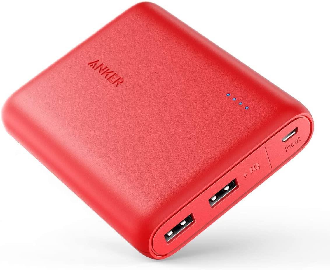 סוללת גיבוי Anker PowerCore Select 10000 אדום
