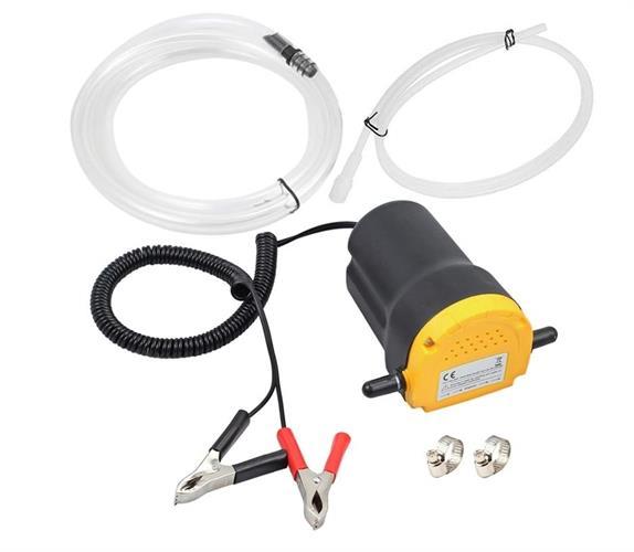 משאבה חשמלית 12 וולט ליניקה ומילוי שמן מנוע או תמסורות מתצוגה הנחה 50 שח