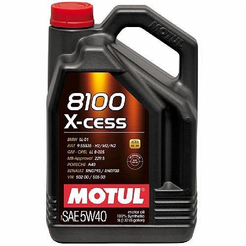 שמן מנוע 5 ליטר MOTUL 8100 5W40