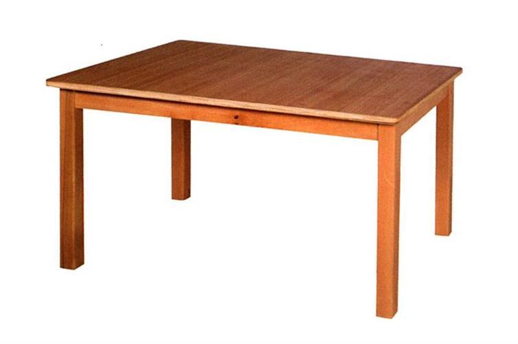 שולחן גן רגל עץ - 6 ילדים